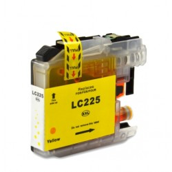 BROTHER LC225XL AMARILLO CARTUCHO DE TINTA GENERICO LC225XLY