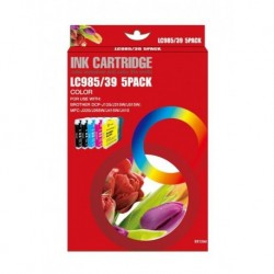 BROTHER LC985 MULTIPACK DE 5 CARTUCHOS DE TINTA GENERICOS