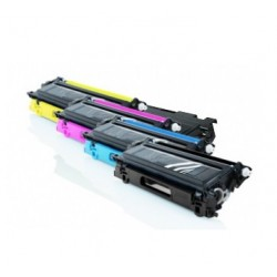 BROTHER TN135 / TN130 CARTUCHOS DE TONER COMPATIBLES PACK 4 COLORES