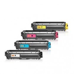 BROTHER TN241 / TN245 PACK 4 CARTUCHOS DE TONER GENERICO
