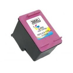 HP 300XL TRICOLOR CARTUCHO DE TINTA REMANUFACTURADO CC644EE