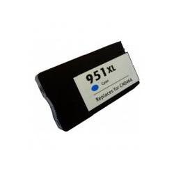 HP 951XL CYAN CARTUCHO DE TINTA GENERICO CN046AE