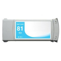 HP 81 CYAN LIGHT CARTUCHO DE TINTA GENERICO C4934A