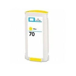 HP 70 AMARILLO CARTUCHO DE TINTA GENERICO C9454A