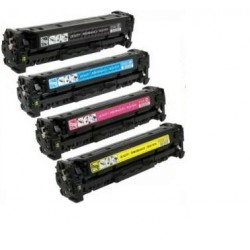 HP CE410X / CE411A / CE412A / CE413A CARTUCHOS DE TONER COMPATIBLE PACK 4 COLORES