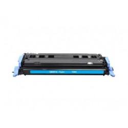 HP Q6001A CYAN CARTUCHO DE TONER GENERICO Nº124A