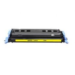 HP Q6002A AMARILLO CARTUCHO DE TONER GENERICO Nº124A