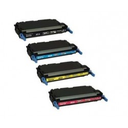 HP Q6470A / Q6471A / Q6472A / Q6473A CARTUCHOS DE TONER COMPATIBLE Pack 4 colores