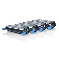 HP CB400A / CB401A / CB402A / CB403A CARTUCHOS DE TONER GENERICOS PACK 4 COLORES