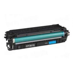 HP CF361X CYAN CARTUCHO DE TONER GENERICO Nº508X
