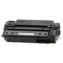 HP Q7551X NEGRO CARTUCHO DE TONER GENERICO Nº51X