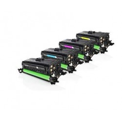 HP CE400X / CE401A / CE402A / CE403A (507X - 507A) Cartuchos de toner generico Pack 4 colores