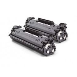 Pack 2 HP CE278A negro cartucho de toner compatible Nº 78A