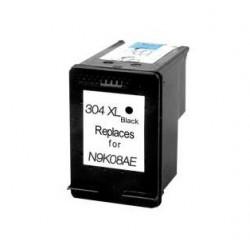 HP 304XL NEGRO CARTUCHO DE TINTA REMANUFACTURADO N9K06AE/N9K08AE
