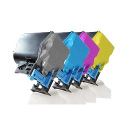 EPSON ACULASER C3900 / CX37 CARTUCHOS DE TONER COMPATIBLE PACK 4 COLORES