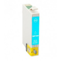 EPSON T0335 CYAN LIGHT CARTUCHO DE TINTA GENERICO C13T03354010