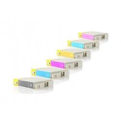 Multipack 6 Cartuchos de tinta Epson T0331/2/3/4/5/6 compatibles