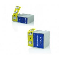 PACK 2 Cartuchos de tinta Epson T036 / T037