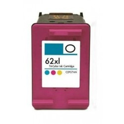 HP 62XL TRICOLOR CARTUCHO DE TINTA REMANUFACTURADO C2P07AE