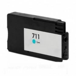 HP 711 CYAN CARTUCHO DE TINTA GENERICO CZ130A