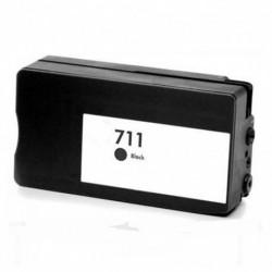HP 711XL NEGRO CARTUCHO DE TINTA GENERICO CZ133A