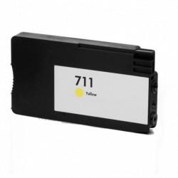 HP 711 AMARILLO CARTUCHO DE TINTA GENERICO CZ132A